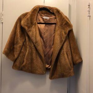 Calvin Klein Faux Fur cropped jacket
